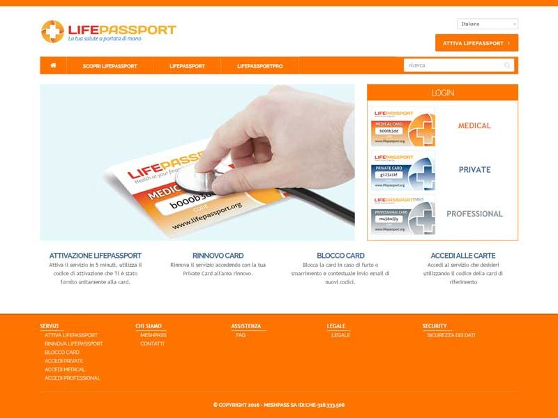 Lifepassport | Website